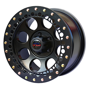 Off Road Bumpers F150 >> AOR Wheels 17x9 Beadlock Look Alike Matte Black - American ...